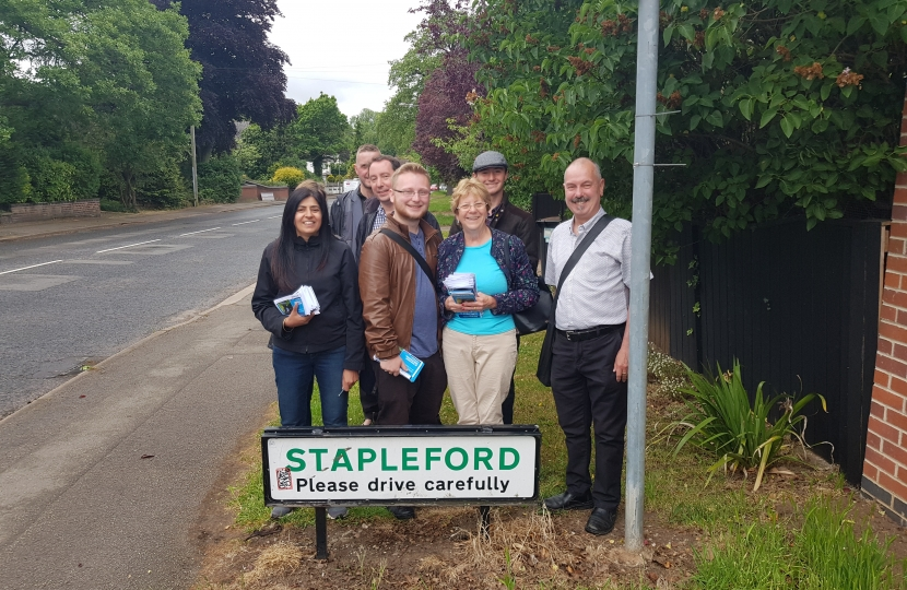 Broxtowe Conservatives will continue to promote Stapleford